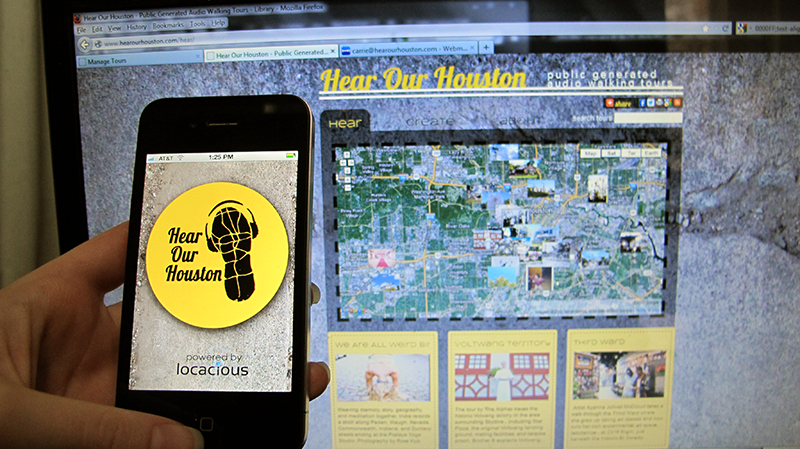 hear our houston app