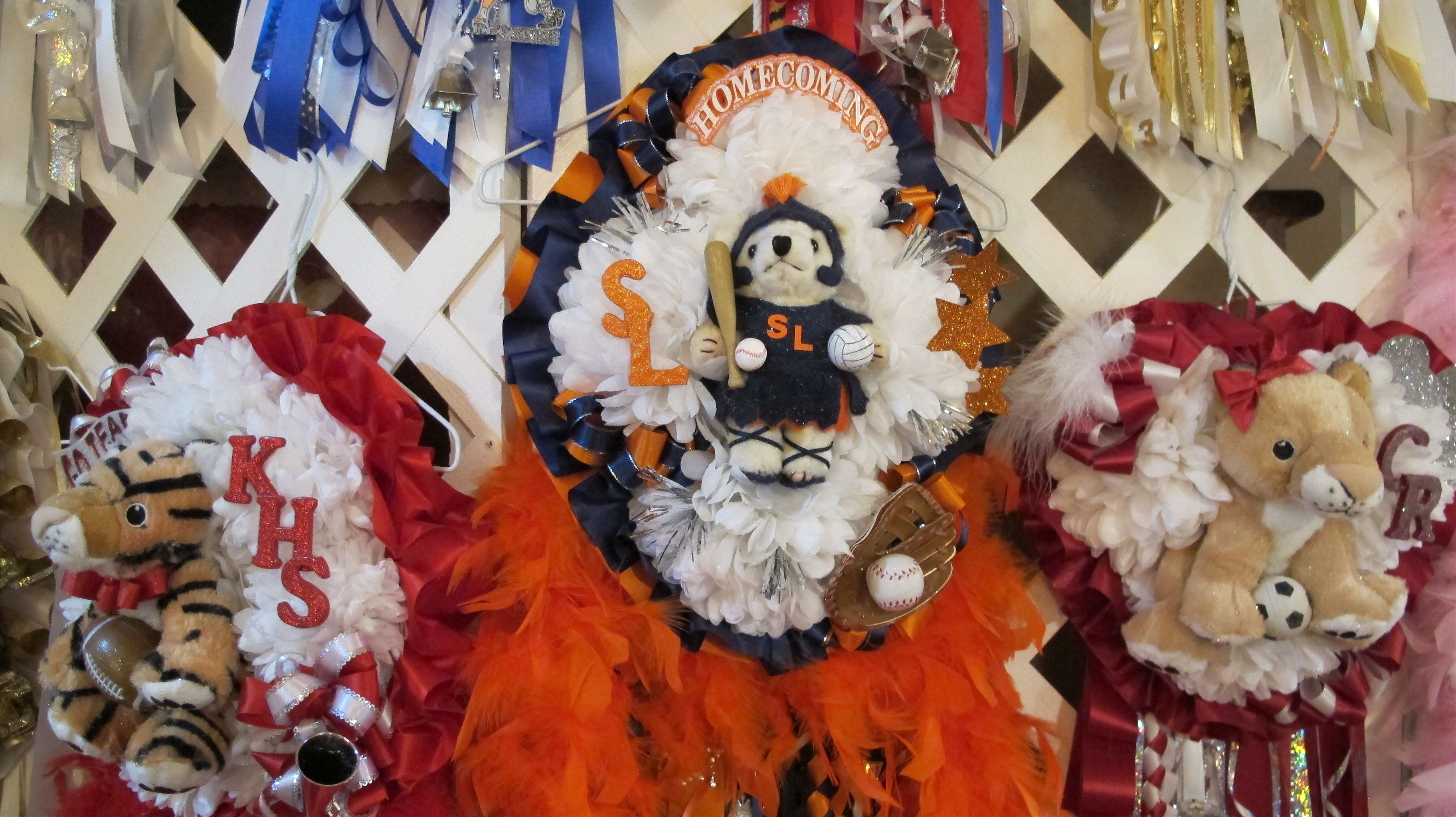 Hear Our Houston Homecoming Mums